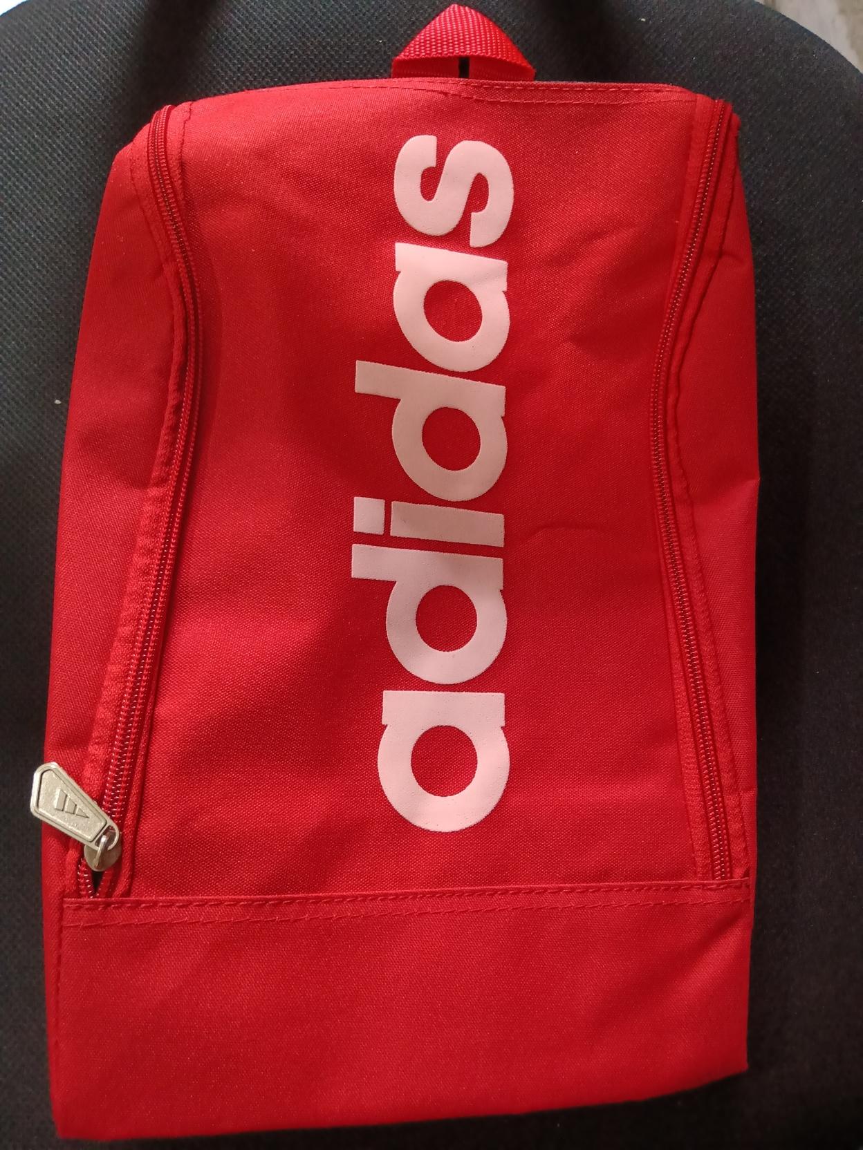 Tas sepatu futsal warna merah