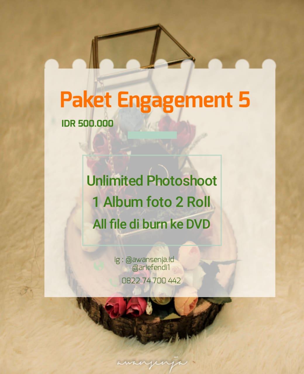 Paket foto lamaran tersedia beberapa paket pilihan