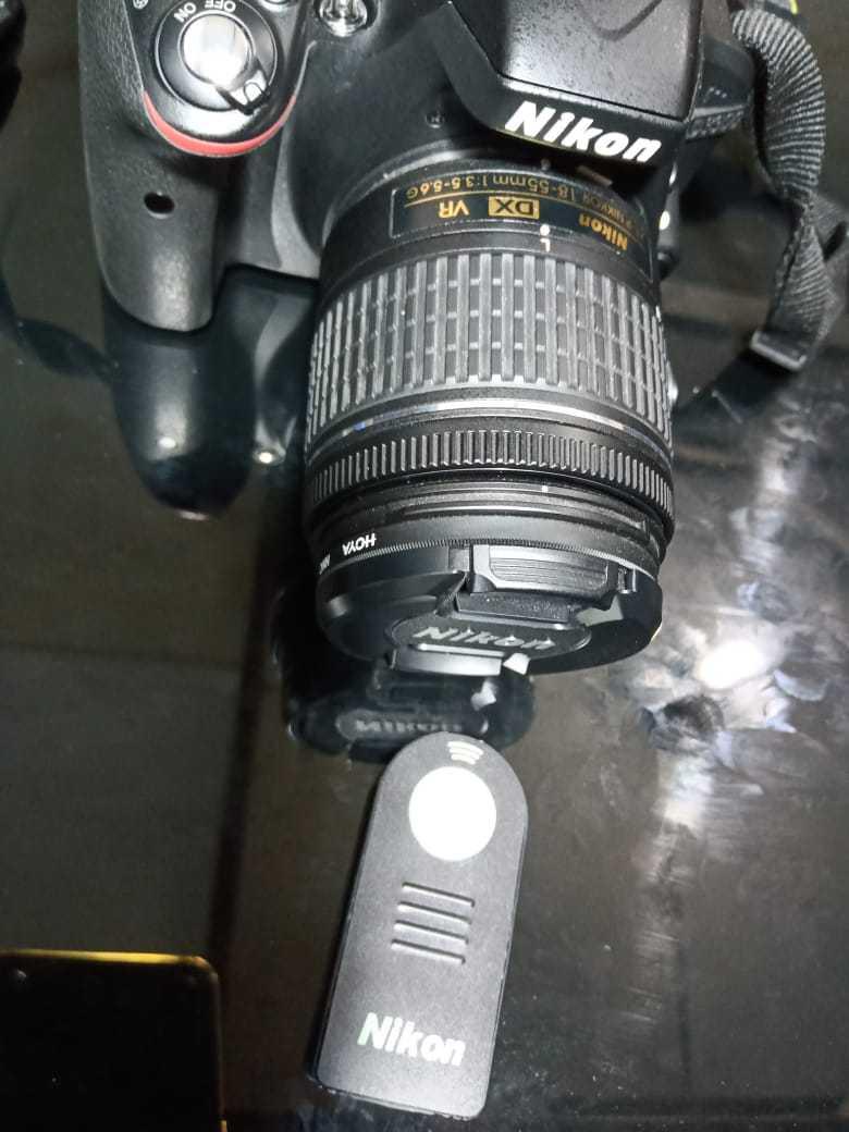 DSLR Nikon D3300, lengkap mulus, bonus filter UV dan Remote shutter