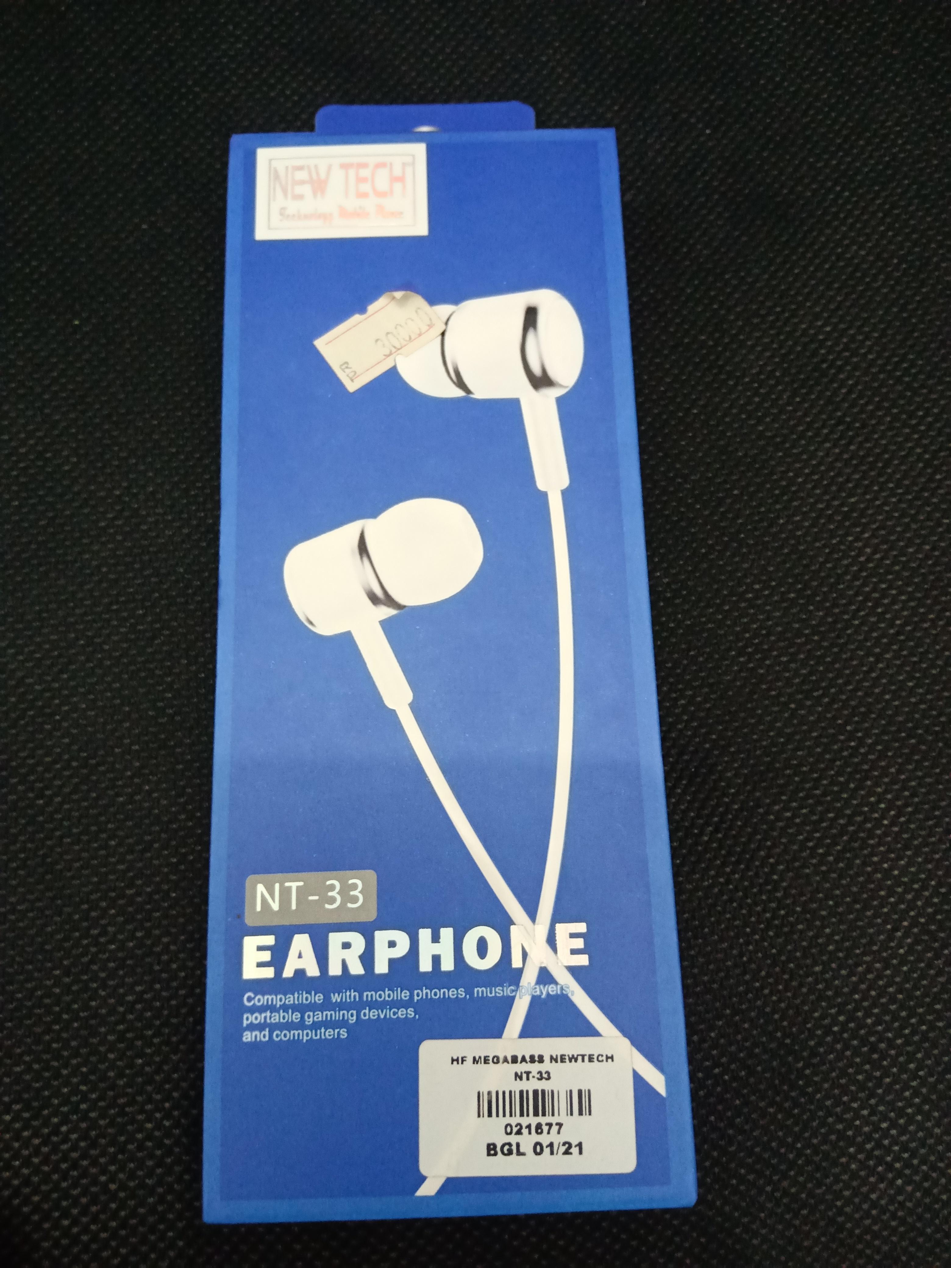 Earphone New Tech NT-33